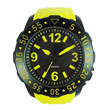 yellow-and-black sports watch