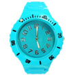 Plastic watch colorful with unidirectional bezel