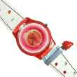 Sweet strawberry red advertising watch