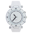 All white plastic ladies watch